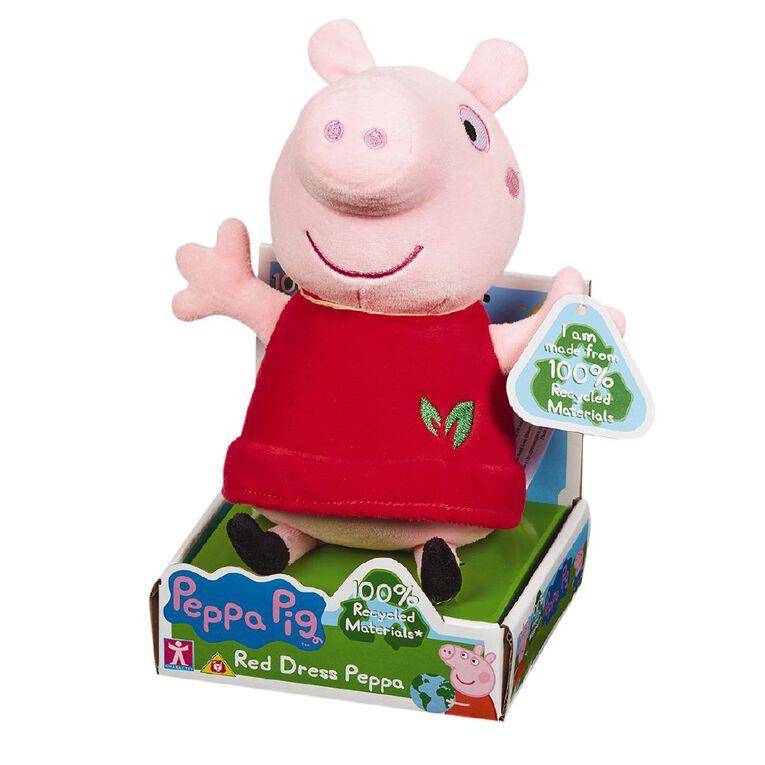 Peppa Pig Eco Plush Red Peppa 20cm, , hi-res