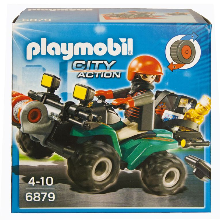 Playmobil Robber's Quad with Loot, , hi-res