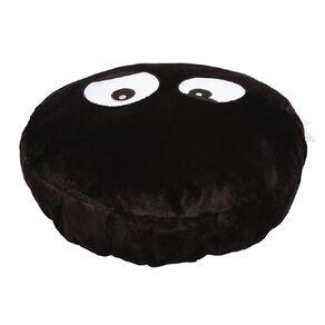 Living & Co Kids Floor Cushion Monster Black/White 60cm x 60cm