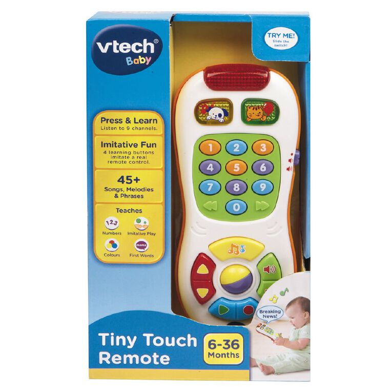 Vtech Tiny Touch Remote Exclusive, , hi-res