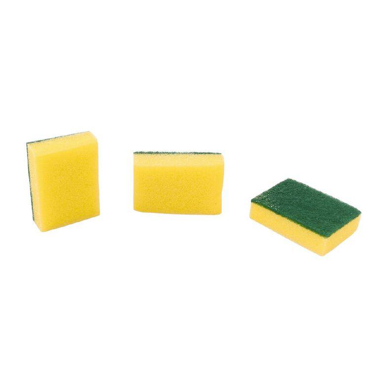 Kitchen Essentials Scouring Pads 3 Piece, , hi-res