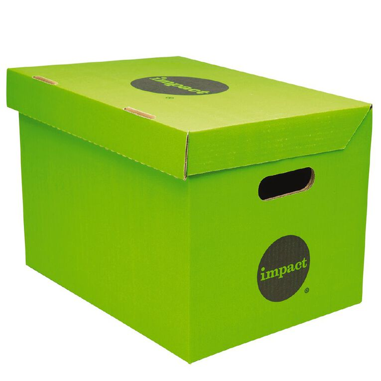 Impact Archive Box Green, , hi-res