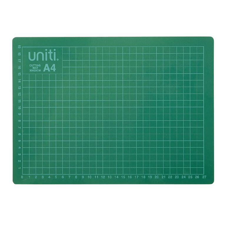 Uniti Cutting Mat 300 x 220 x 3mm A4, , hi-res
