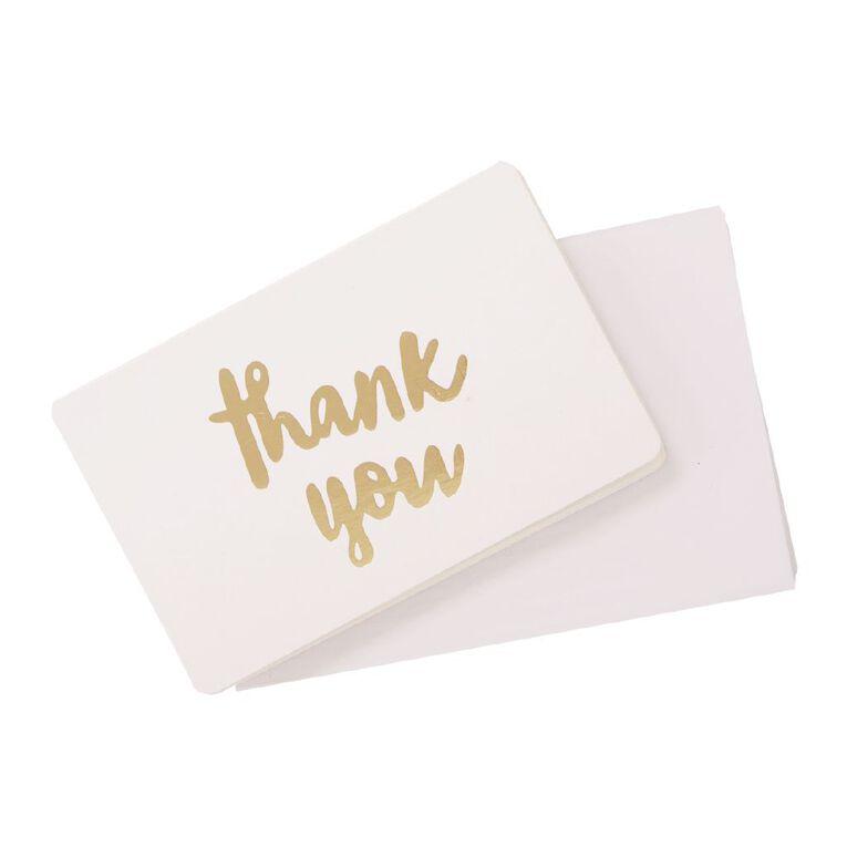 Uniti Cards & Envelopes Mini 6 Pack Gold Foil, , hi-res