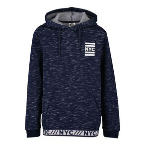 Young Original Space-Dye Jacquard Pull Over Hoodie