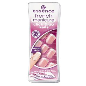 Essence French Manicure Click 'N Go Nails