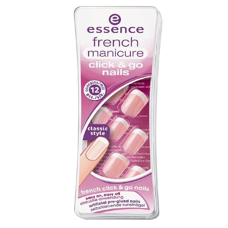 Essence French Manicure Click 'N Go Nails, , hi-res