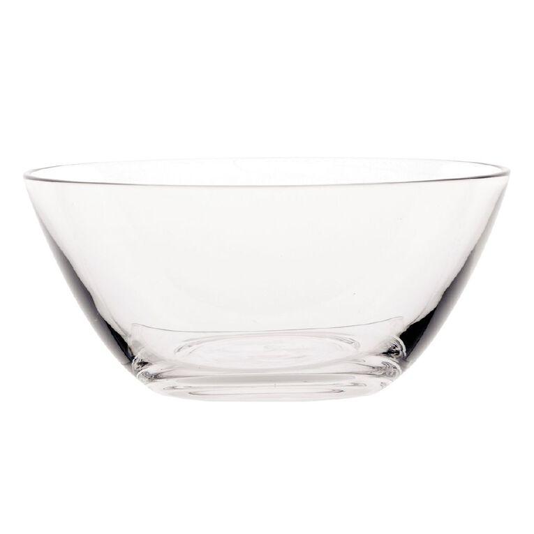 Living & Co Glass Serve Bowl 13.8cm x 6.3cm, , hi-res