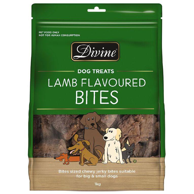 Divine Dog Treats Lamb 1kg, , hi-res