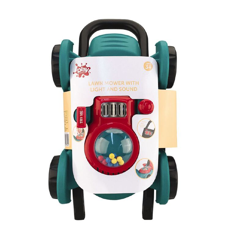 Play Studio Lawn Mower With Light and Sound, , hi-res