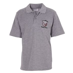 Schooltex Wesley Primary Short Sleeve Polo with Embroidery