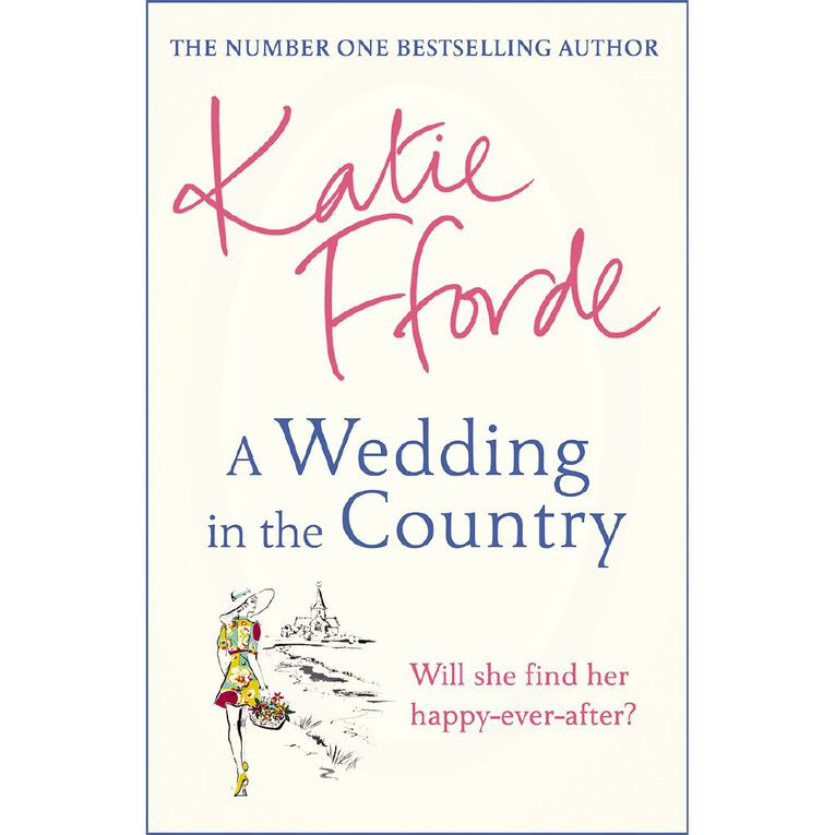 A Wedding in the Country by Katie Fforde, , hi-res image number null