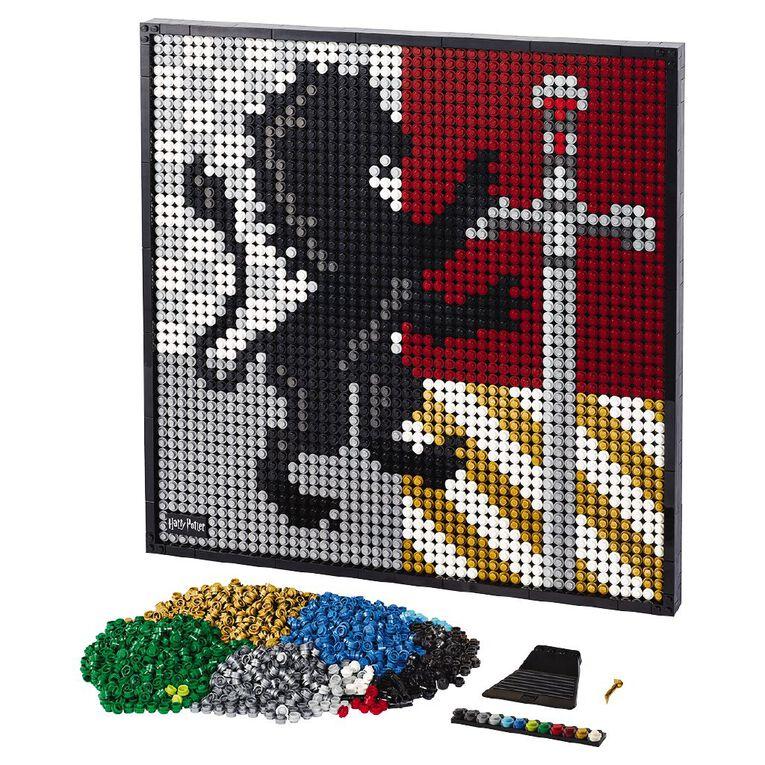 LEGO Art Harry Potter Hogwarts Crests 31201, , hi-res