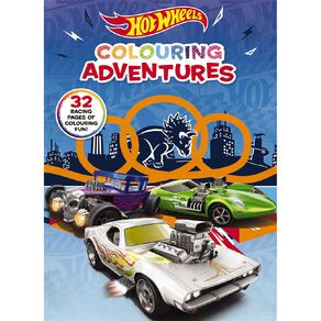 Hot Wheels: Colouring Adventures