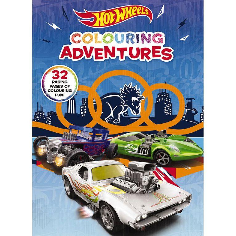 Hot Wheels: Colouring Adventures, , hi-res