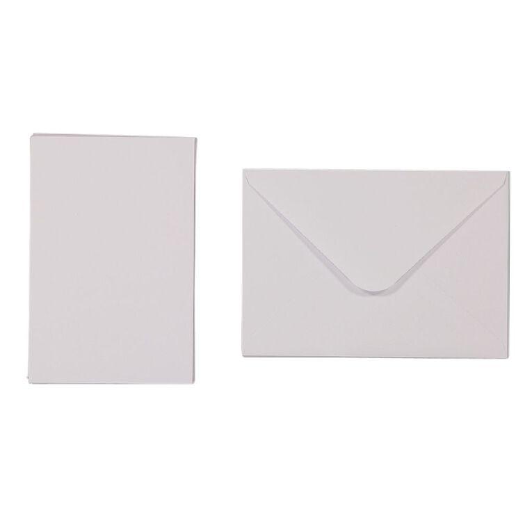 Uniti Cards & Envelopes White 6 Pack, , hi-res