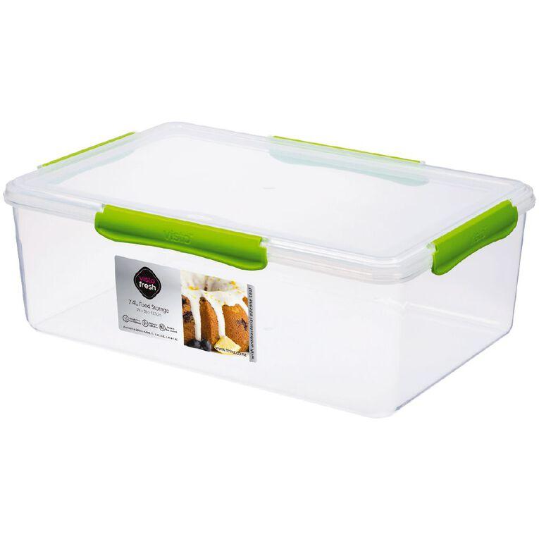 Visto Fresh Storage Container Clear 7.4L, , hi-res