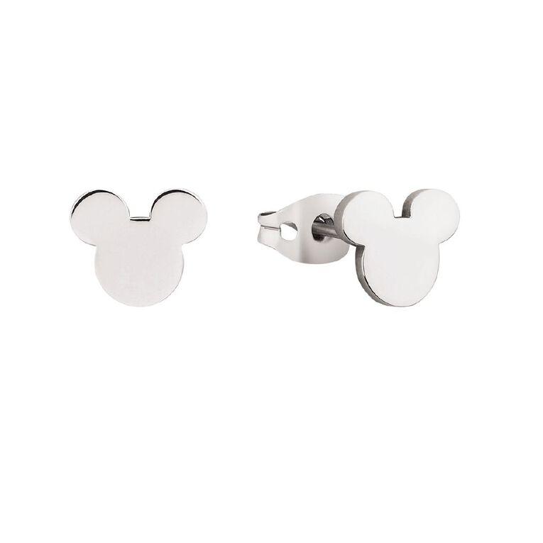 Disney Mickey Mouse Head Stud Earrings, , hi-res