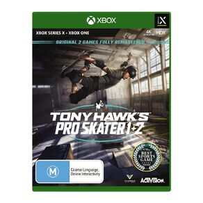 Xbox Series X Tony Hawks Pro Skater 1 & 2