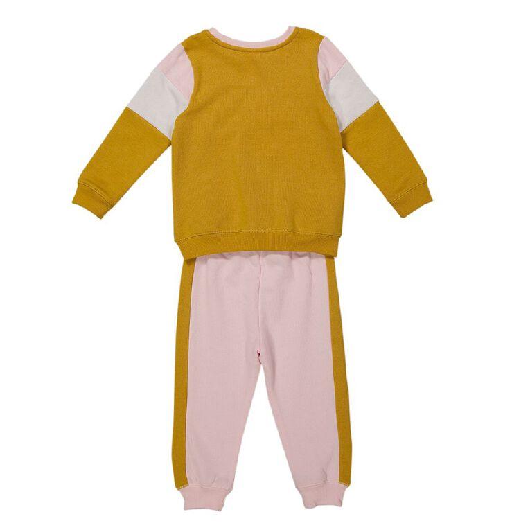 Young Original Toddler Tracksuit Set, Pink Light, hi-res