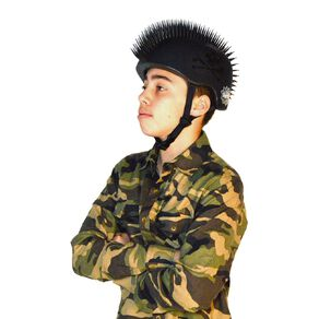 Raskullz Jolly Roger Mohawk Helmet Youth 8yrs+ 54-58cm