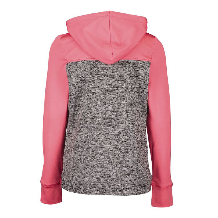 Active Intent Pull Over Hoodie, Grey Mid, hi-res
