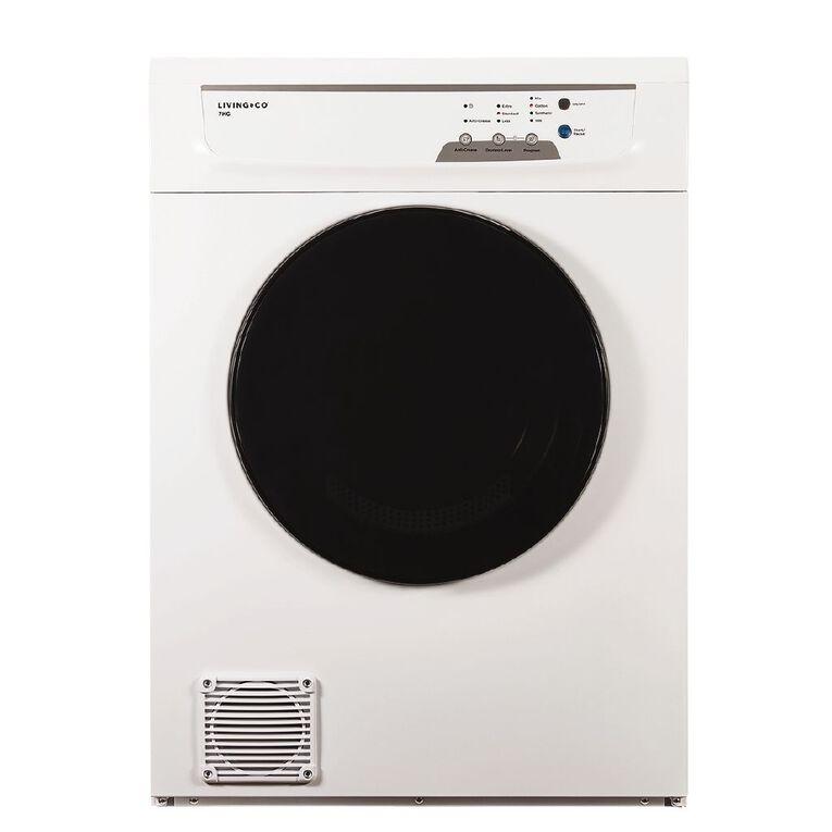 Living & Co Clothes Dryer 7 kg White, , hi-res image number null