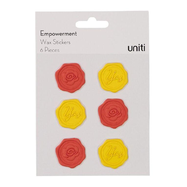 Uniti Empowerment Wax Shape Sticker, , hi-res