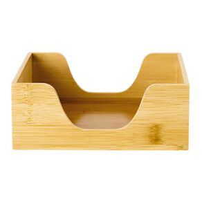 Living & Co Wooden Napkin Holder 17cm x 16cm x 6cm