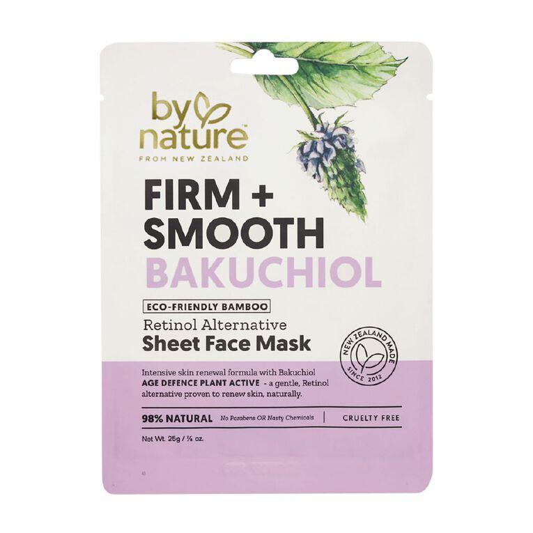 By Nature Bakuchiol Retinol Alternative Sheet Face Mask 25ml, , hi-res