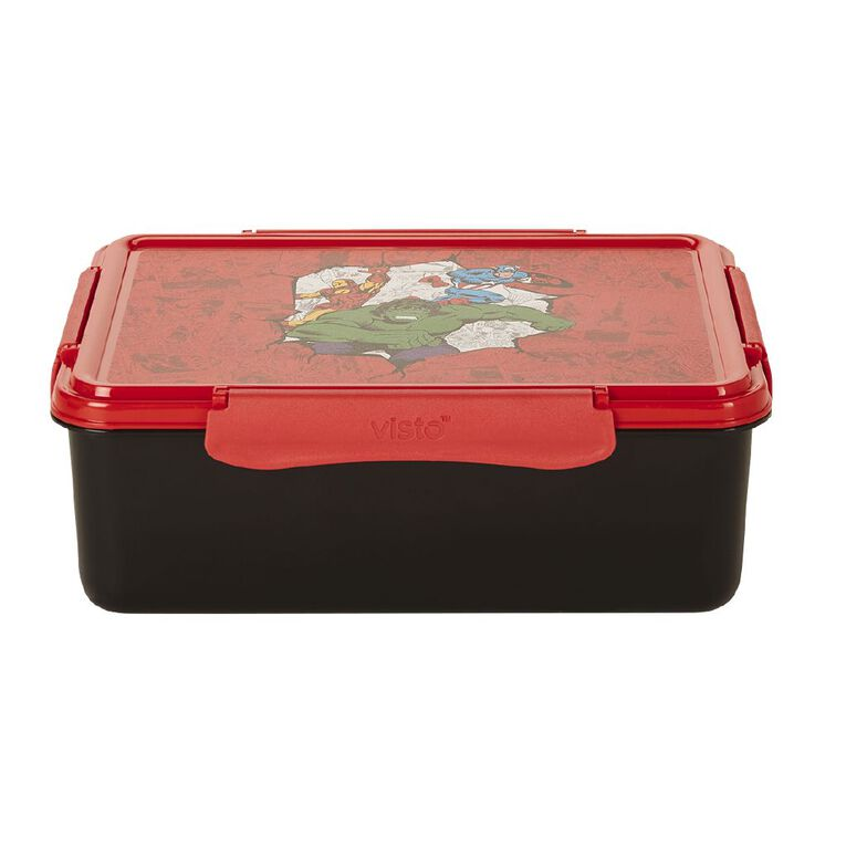 Avengers Visto Fresh Lunch Box Multi-Coloured 2.3L, , hi-res