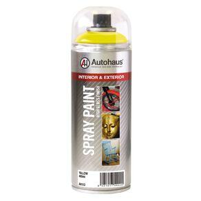 Autohaus Spray Paint Yellow 400ml