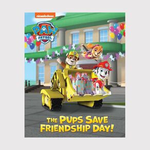 PAW Patrol Pups Save Friendship Day Lenticular Storybook