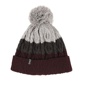 H&H Men's 3 Colour Cable Beanie