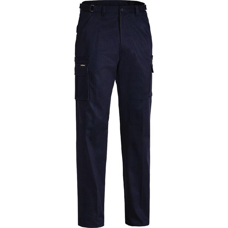 Bisley Workwear Cargo Pants, Navy, hi-res