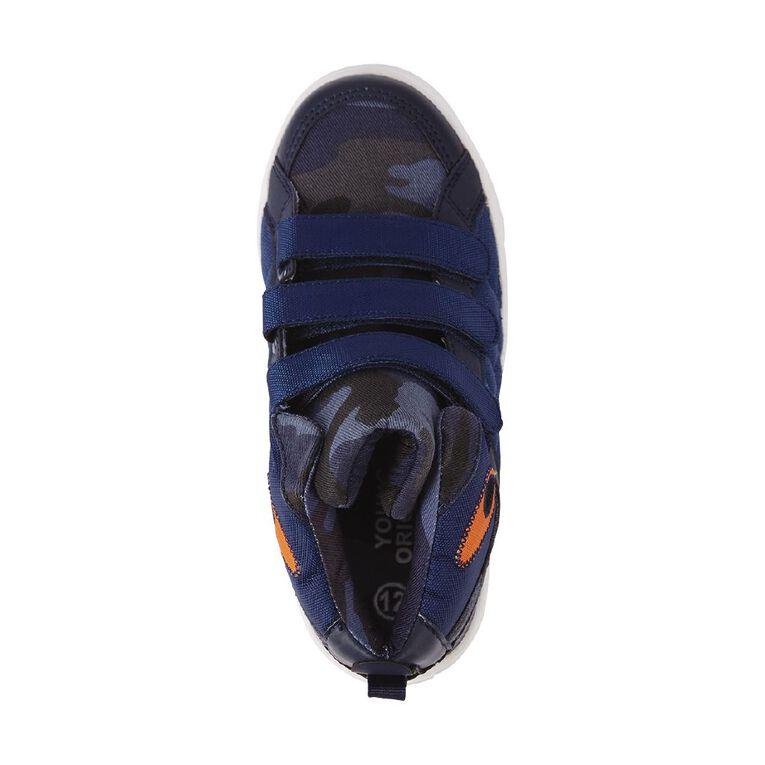 Young Original Harlan Shoes, Blue/Grey, hi-res image number null
