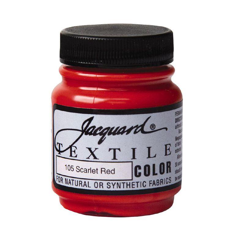 Jacquard Textile Colours 66.54ml Scarlet Red, , hi-res