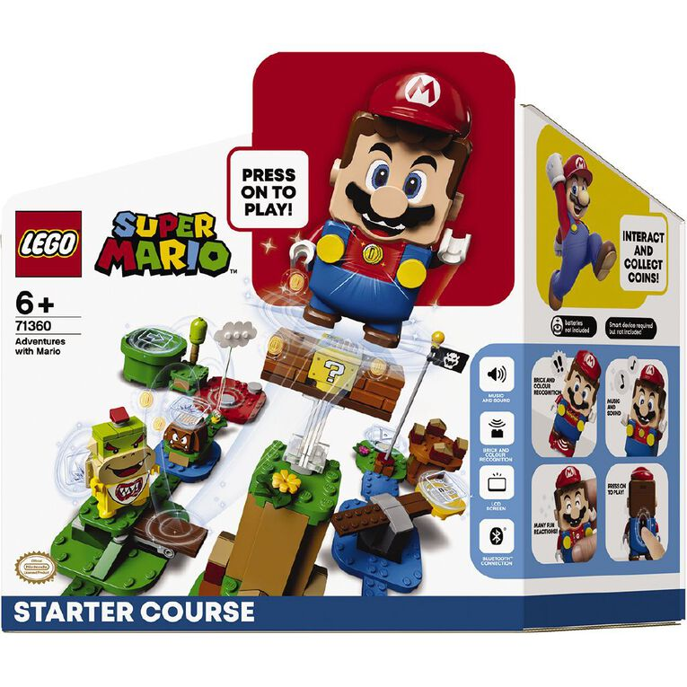 LEGO Super Mario Adventures with Mario Starter Course 71360, , hi-res