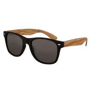 H&H Essentials Blonde Wood Floral Sunglasses