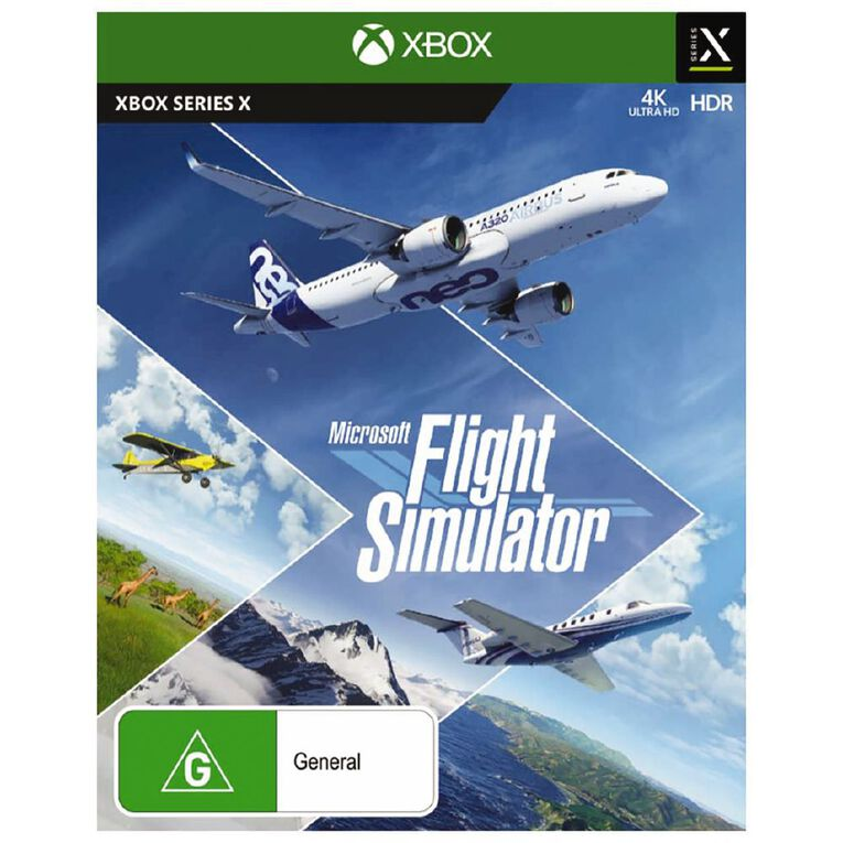 Xbox Series X Microsoft Flight Simulator, , hi-res