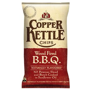 Copper Kettle Chips Wood Fired BBQ 150g