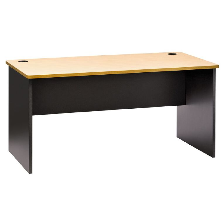 Jasper J Emerge Desk 1500 Beech/Ironstone, , hi-res
