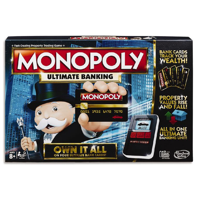 Monopoly Super Electronic Banking Game, , hi-res