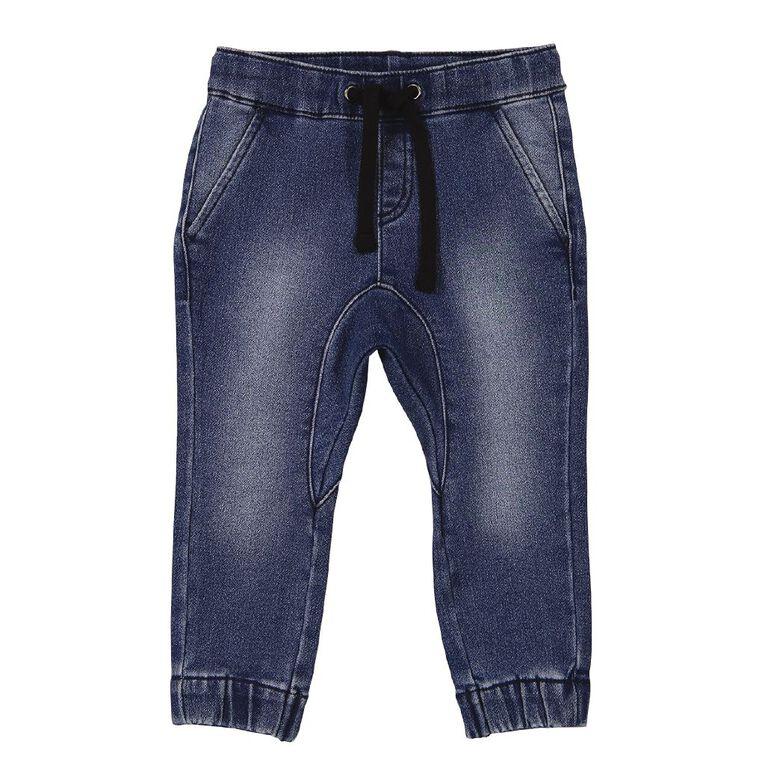 Young Original Toddler Jogger Jeans, Blue Mid, hi-res