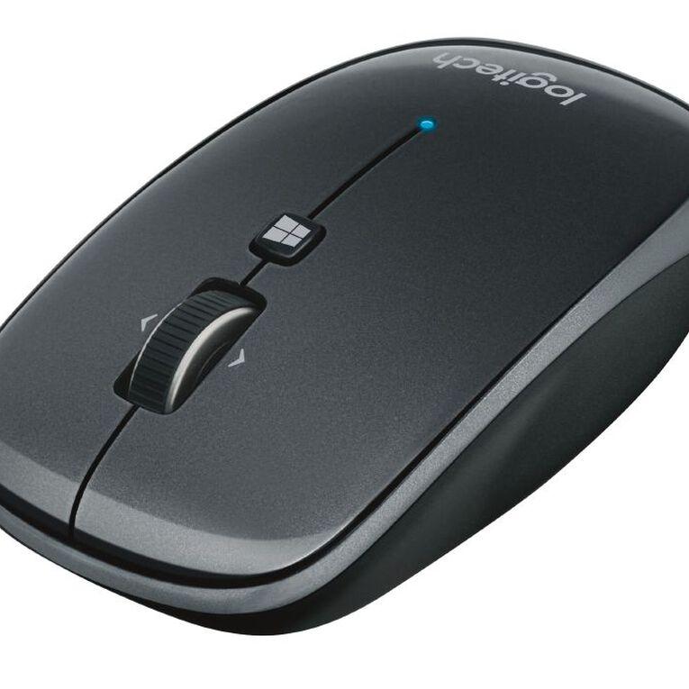 Logitech M557 Bluetooth Mouse Grey, , hi-res