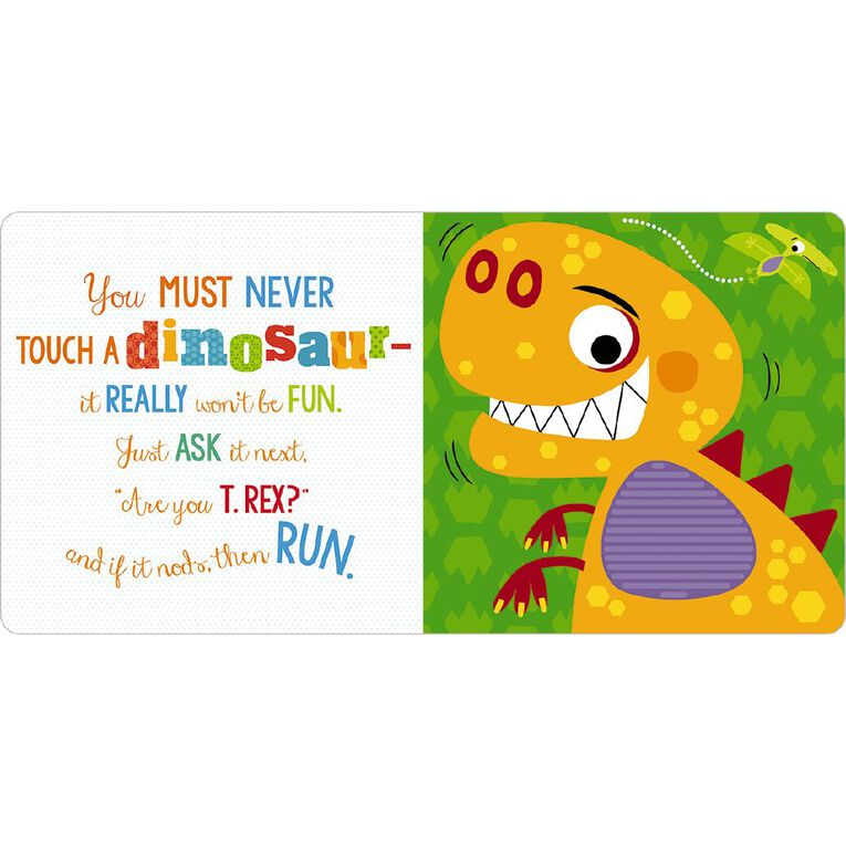 Never Touch a Dinosaur Jigsaw Puzzle, , hi-res