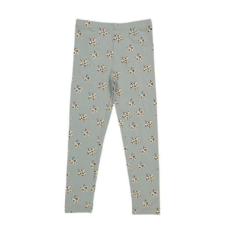 Young Original Girls' Lilly Leggings, Blue Light BUTTERFLY, hi-res