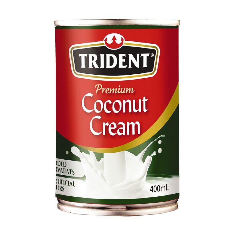 Trident Premium Coconut Cream 400ml, , hi-res