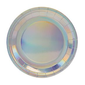 Party Inc Paper Plates Iridescent 8 Pack 23cm