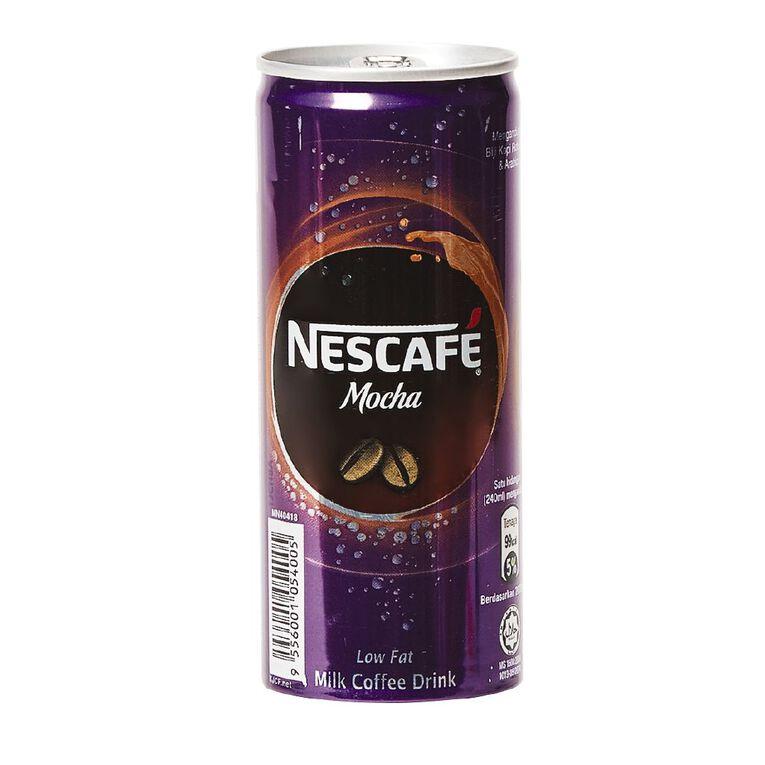 Nescafe Mocha Can 240ml, , hi-res